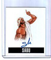 Sabu S1 2014 Leaf Originals Wrestling Authentic On Card Autograph WWE