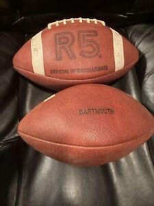 VINTAGE Rawlings R5 Official InterCollegiate Football DARTMOUTH- 1977 season