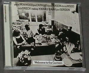 TRAFFIC Welcome To The Canteen - US Remaster - CD 2002 Island US-Import OOP MINT