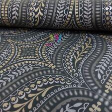 HOLDEN Farah Damask Asiatische Blatt Muster Tapete metallisch Blumenmotiv 41550