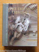 THE ERICSSON CHRONICLES 125 YEARS OLD TELEPHONE TELEFONO VECCHIO STORIA HISTORY