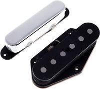 Suhr Classic T Tele Fender Telecaster Bridge & Neck Pickup Set Chrome Nickel