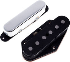 Suhr Classic T Tele Fender Telecaster Bridge & Neck Pickup Set Chrome Nickel