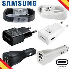 Cargador Samsung USB TIPO C GALAXY S8 S9 S10 NOTE 8 9 PLUS CARGA RÁPIDA 5.0V 2A
