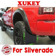 4x Mud Flaps Mudflaps Mudguards Splash Guards For Chevrolet Chevy Silverado HD