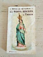 Breve storia della madonna miracolosa di Taggia