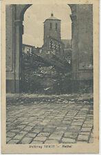 AK Weltkrieg 1914/15 -Rethel ,Feldp. Divisions-Brückentrain 34  ( H901)