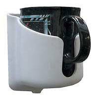 EASY FIT PVC MUG HOLDER A SAFE & SIMPLE WAY TO HOLD HOT & COLD DRINKS