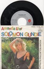 AMANDA LEAR disco 45 giri STAMPA TEDESCA Solomon Gundie