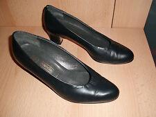 Canda Damen Schuhe, Pumps, Echt Leder, Gr. 4, Gr. 37, gepflegt