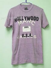 Authentic MARC JACOBS Hollywood USA  Tee T SHIRT Eco Purple S- NWT