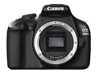 Canon 5161B016AA EOS 1100D 12.2MP Digital SLR Camera - Black