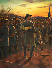 """General of the Confederacy"" Don Troiani Civil War Limited Edition Canvas Giclee"