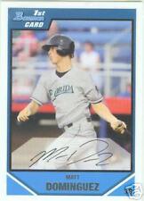 Matt Dominguez Houston Astros 2007 1st Bowman Card