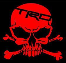 Toyota TRD Skull RD Decal Sticker SR5 Tacoma Tundra FR-S 86 4X4 22RE 4Runner