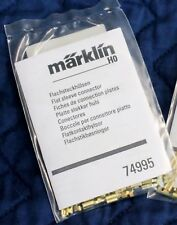 Marklin 74995, 20 C Track Flat Sleeve Spade Connectors, Use With Feeder Wires