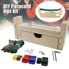 Adjustable Paracord Jig Bracelet Maker Braiding Weaving DIY Craft Tool Kit Style
