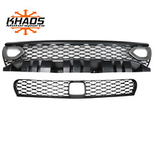 Dodge Charger Bezel Upper Lower Grille w/ Adaptive Cruise PDN Destroyer Gray