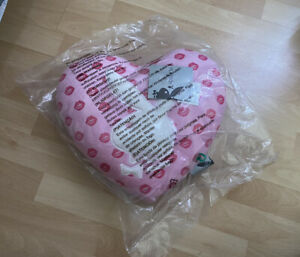 Playboy Bunny Pink Heart  Kiss Brand New Pillow Cushion Y2K Retro Vintage