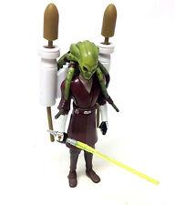 "STAR Wars Clone Wars Kit Fisto Jedi Stile Figura 3.75"" Action Figure"