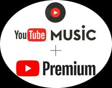 youTube Premium youTube music | 1 year | 12 mois ⭐