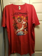 Ed Hardy (red) t-shirt size 4xl