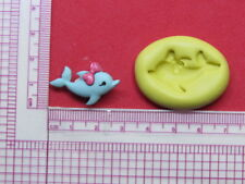 Baby Dolphin Silicone Mold A966 for Edible Cake Candy Chocolate Resin Fondant