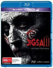 Jigsaw (Blu-ray + Ultraviolet, 2018) Horror Saw New & Sealed!