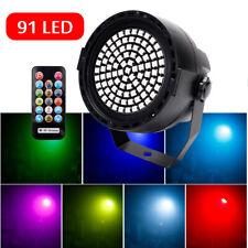 Strobe PAR DMX Bühnenbeleuchtung RGB LED DJ Party Disco Bühnelicht Disco Remote