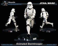 Star Wars Gentle Giant Stormtrooper Maquette Mint