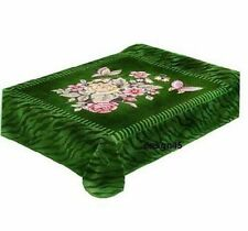 Solaron Korean Blanket throw Thick Mink Plush queen size Butterfly Licensed new