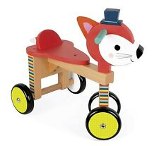 Janod J08010 - Cavalcabile Volpe Baby Forest New