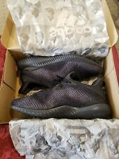 Mens Adidas Alphabounce Em Mens Running Shoes - Black size US 12