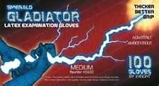 GLADIATOR LATEX GLOVES POWDER FREE  10 X 100  XLARGE