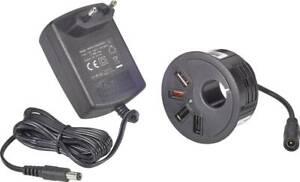 VOLTCRAFT USB-Ladegerät DAPS-4000/4 DAPS-4000/4 Steckdose Ausgangsstrom (max.) 4