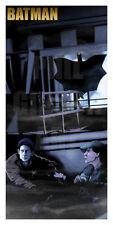 "Original ""The Bat?"" Giclée Art Print Movie Poster Batman 1989 Joker Batmobile"