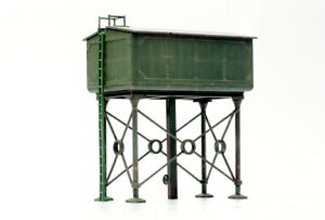 DAPOL/Kitmaster 00 gauge, Layout, trackside, Scenic Kit No COO5 Water tower.