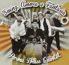 PARMA BRASS QUINTET = Swing Amore e Fantasia = CD IRMA = GYPSY FOLK WORLD !!