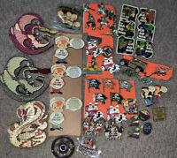 Lot of Random Little League Pins 4inch 3d Pins Starter Set