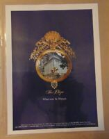 Vintage 90's PLAZA HOTEL New York City Central Park Print Ad Advertising