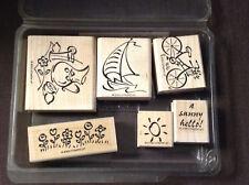"Stampin' Up! Simply Summer ""2000"" stamp set"