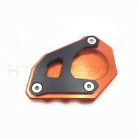 Billet Kickstand Sidestand Plate for KTM 1050 1090 1190 1290 Adventure 13-Orange