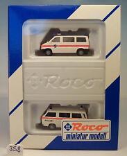 Roco 1/87 Set 2413 Volkswagen VW T3 & T4 Kantons Polizei OVP #358