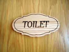Toilet door sign, Wooden sign, Restaurant bathroom sign, Handcrafted sign