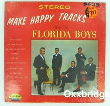 SEALED THE FLORIDA BOYS Make Happy Tracks ORIGINAL 1970 Southern Gospel VINYL LP