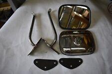 1968-1969-1970-1971-1972 CHEVROLET GMC Truck Stainless Side Mirror & Bracket Kit