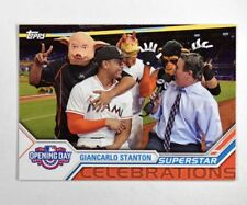 2017 Topps Opening Day Superstar Celebrations #SC21 Giancarlo Stanton - NM-MT