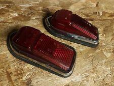 Jaguar XKE E-Type LUCAS SIDE MARKER LENS and HOUSING RED L824 OEM