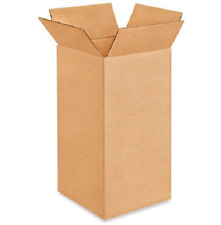 25 6x6x12 Cardboard Paper Boxes Mailing Packing Shipping Box Corrugated Carton