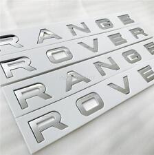 Nouveau range rover chrome bonnet & boot lettrage badge sport vogue font